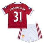 Manchester United 15/16 SCHWEINSTEIGER Home Mini Kit