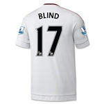 Manchester United 15/16 BLIND Away Soccer Jersey