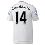 Manchester United 15/16 CHICHARITO Away Soccer Jersey