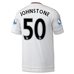 Manchester United 15/16 JOHNSTONE Away Soccer Jersey