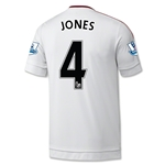 Manchester United 15/16 JONES Away Soccer Jersey