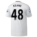 Manchester United 15/16 KEANE Away Soccer Jersey