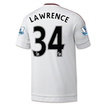 Manchester United 15/16 LAWRENCE Away Soccer Jersey