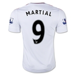 Manchester United 15/16 MARTIAL Away Soccer Jersey