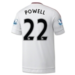 Manchester United 15/16 POWELL Away Soccer Jersey