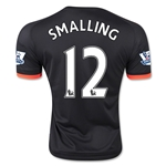 Manchester United 15/16 SMALLING Third Soccer Jersey