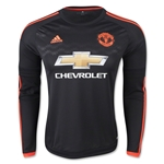 Manchester United 15/16 LS Third Soccer Jersey