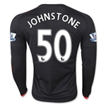 Manchester United 15/16 JOHNSTONE LS Third Soccer Jersey
