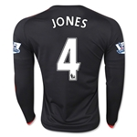 Manchester United 15/16 JONES LS Third Soccer Jersey