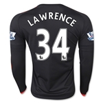 Manchester United 15/16 LAWRENCE LS Third Soccer Jersey