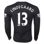 Manchester United 15/16 LINDEGAARD LS Third Soccer Jersey