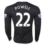 Manchester United 15/16 POWELL LS Third Soccer Jersey