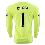 Manchester United 15/16 DE GEA LS Away Goalkeeper Jersey