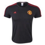 Manchester United 3 Stripe T-Shirt