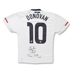Landon Donovan Autographed USA Home Team Jersey