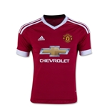 Manchester United 15/16 Youth Home Soccer Jersey