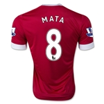 Manchester United 15/16 MATA Youth Home Soccer Jersey