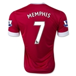 Manchester United 15/16 MEMPHIS Youth Home Soccer Jersey