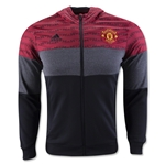 Manchester United Full-Zip Fleece Hoody