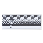 Nike Printed Headband Assorted 6 Pack (Blk/Wht)