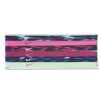 Nike Printed Headband Assorted 6 Pack 15 (Green/Alligators)