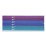 Nike Printed Headband Assorted 6 Pack 15 (Magenta)