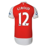 Arsenal 15/16 GIROUD Authentic Home Soccer Jersey