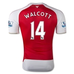 Arsenal 15/16 WALCOTT Authentic Home Soccer Jersey