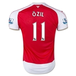 Arsenal 15/16 OZIL Home Soccer Jersey