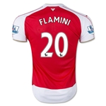 Arsenal 15/16 FLAMINI Home Soccer Jersey