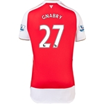 Arsenal 15/16 GNABRY Home Soccer Jersey