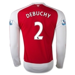 Arsenal 15/16 DEBUCHY LS Home Soccer Jersey