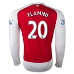 Arsenal 15/16 FAMINI LS Home Soccer Jersey