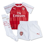 Arsenal 15/16 Home Mini Soccer Kit