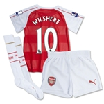 Arsenal 15/16 WILSHERE Home Mini Soccer Kit