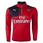 Arsenal 15/16 Home 1/4 Zip Training Top