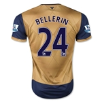 Arsenal 15/16 BELLERIN Away Soccer Jersey