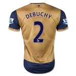 Arsenal 15/16 DEBUCHY Away Soccer Jersey