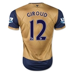 Arsenal 15/16 GIROUD Away Soccer Jersey