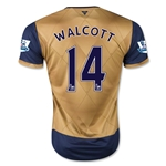 Arsenal 15/16 WALCOTT Away Soccer Jersey