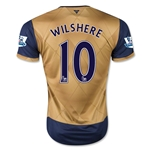 Arsenal 15/16 WILSHERE Away Soccer Jersey
