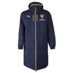 Arsenal Long Bench Jacket