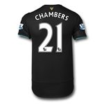 Arsenal 15/16 CHAMBERS Cup Soccer Jersey