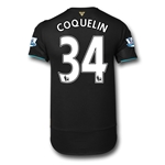 Arsenal 15/16 COQUELIN Cup Soccer Jersey