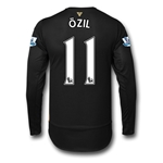Arsenal 15/16 OZIL LS Cup Soccer Jersey