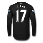 Arsenal 15/16 ALEXIS LS Cup Soccer Jersey