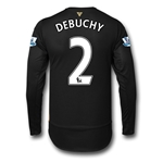 Arsenal 15/16 DEBUCHY LS Cup Soccer Jersey