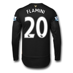 Arsenal 15/16 FLAMINI LS Cup Soccer Jersey