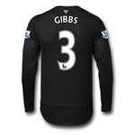 Arsenal 15/16 GIBBS LS Cup Soccer Jersey