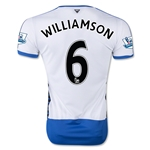 Newcastle United 15/16 WILLIAMSON Home Soccer Jersey